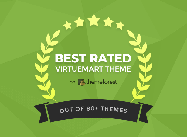 Best Rated VirtueMart Theme on Themeforest