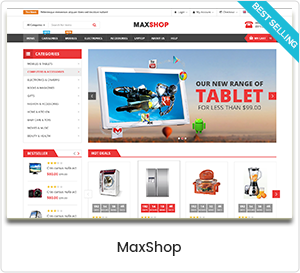 MaxShop - Multipurpose WooCommerce WordPress Theme