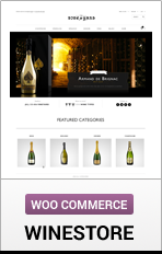 WooCommerce WineStore