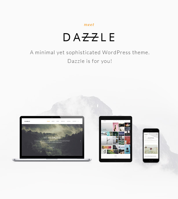 Meet Dazzle - A theme for Professionals