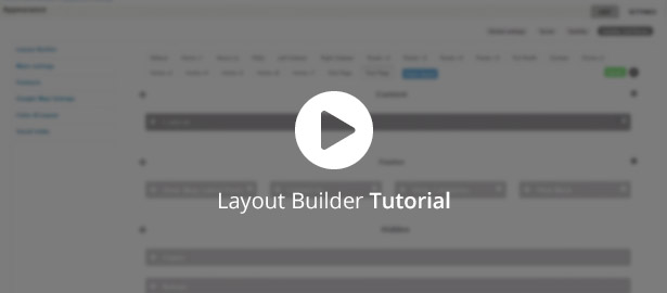 Video about Layout Builder