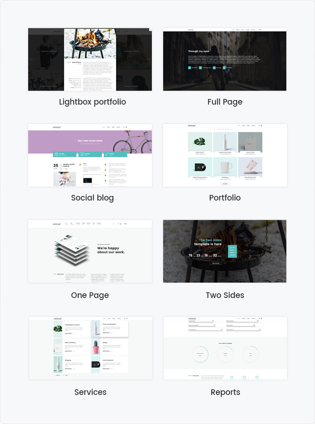 Minimal - The Best Solution Drupal 8.7 Theme - 1