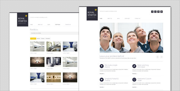 Business theme royalstartex minimalist business wordpress theme review download royalstartex minimalist business wordpress theme friedricerecipe Image collections
