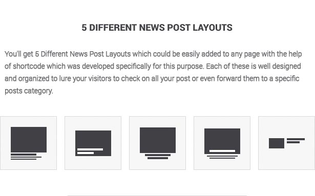 political party wordpress post layouts