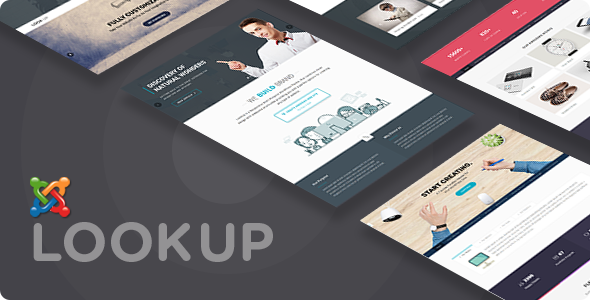 LookUp - Responsive Multi-Purpose Joomla Theme With Page Builder - Creative Joomla