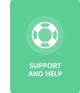 If you faced with any problems you can contact our support