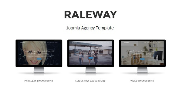 Raleway - Responsive Drag And Drop Multipurpose Theme Using Framework - Joomla CMS Themes