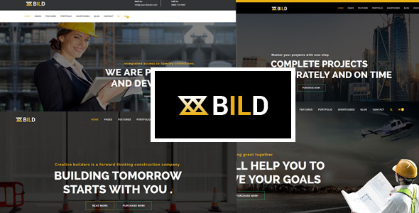 Bild | Building, Construction Multi-Purpose Helix Ultimate Joomla Theme With Page Builder - Business Corporate