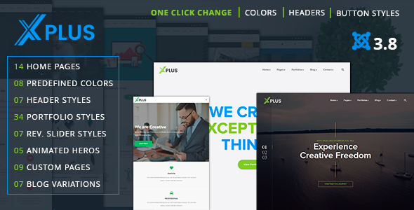 xPlus - Responsive Multipurpose Business Joomla Theme - Business Corporate
