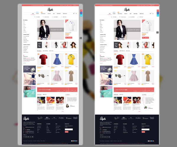 SJ Style - boxed & wide layout