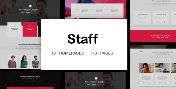 Staff - Responsive Business Multi-Purpose Joomla Template with Page Builder - Business Corporate