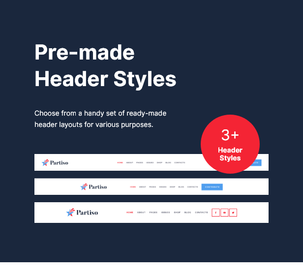 Partiso   Political WordPress Theme for Party & Candidate - 9