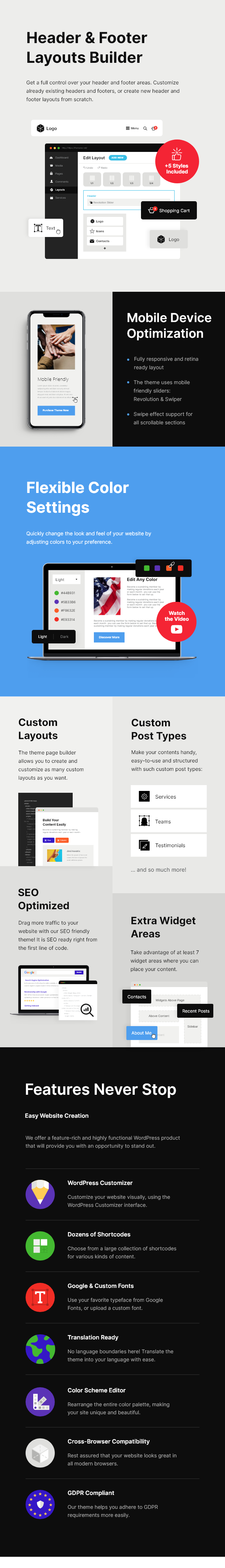 Partiso | Political WordPress Theme for Party & Candidate - 10