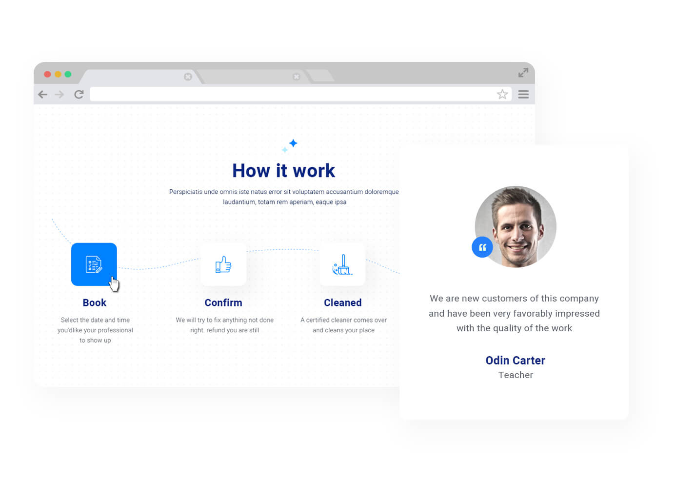 JD CleanX - Best Cleaning Company Joomla template - 4