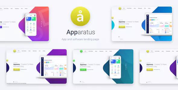 Apparatus v1.3.2 - A Multi-Purpose One-Page Landing Theme