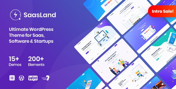 SaasLand v1.6.0 - MultiPurpose Theme for Saas & Startup