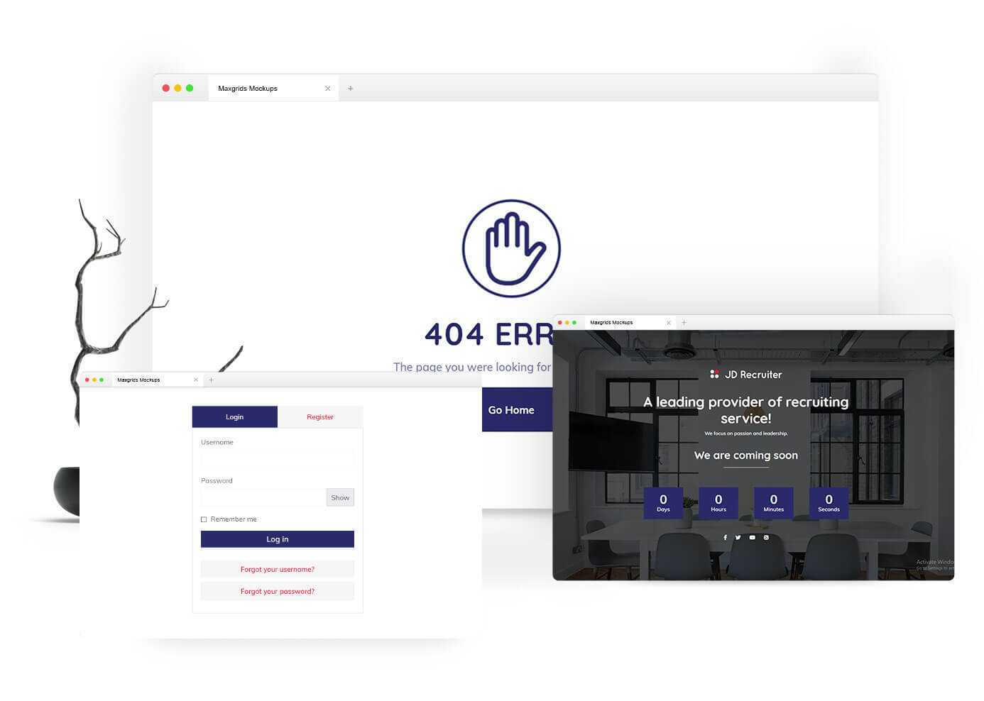 JD Recruiter - HR Consulting & Staffing Agency Joomla Template - 5