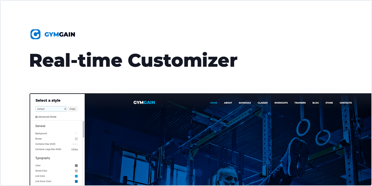 Sports Joomla Template GymGain - 3