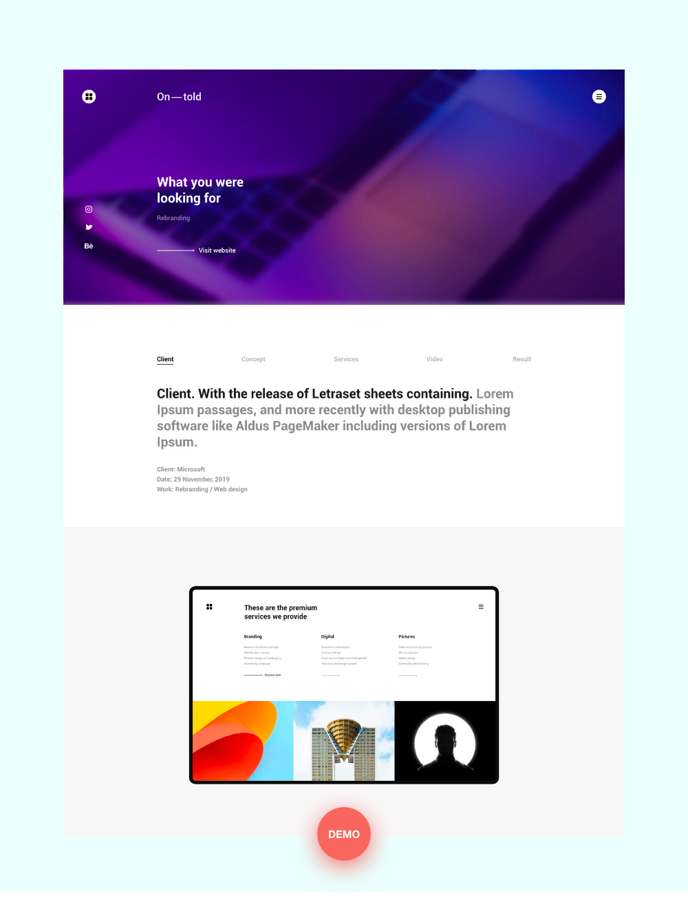 Ontold | Creative Agency Drupal Theme for the Digital Age - 4