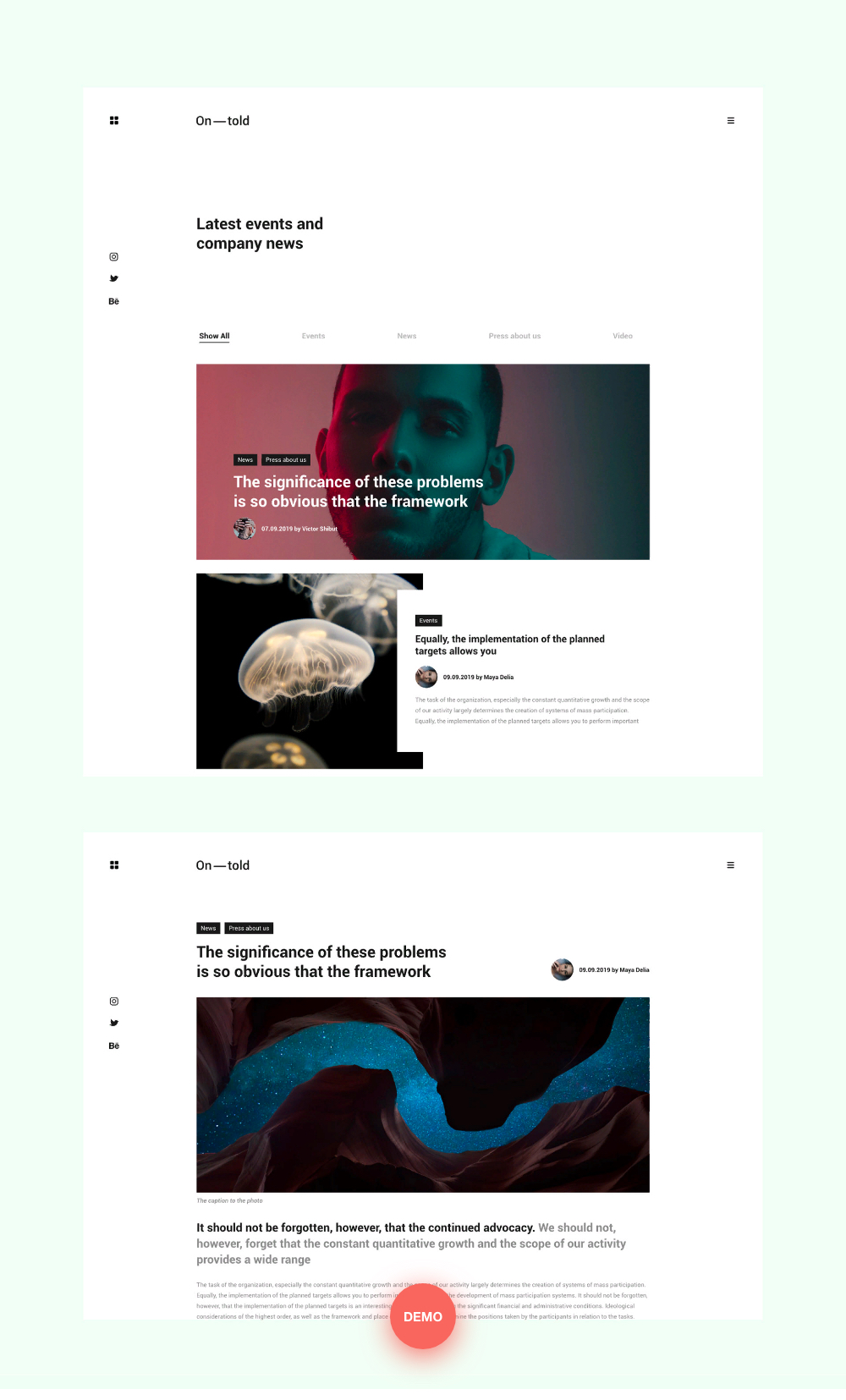 Ontold | Creative Agency Drupal Theme for the Digital Age - 7