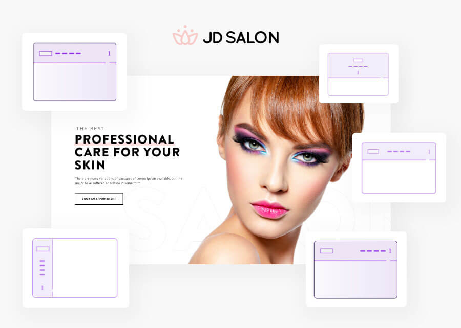 JD Salon - Joomla Template for Beauty, Spa & Hair Salon - 4
