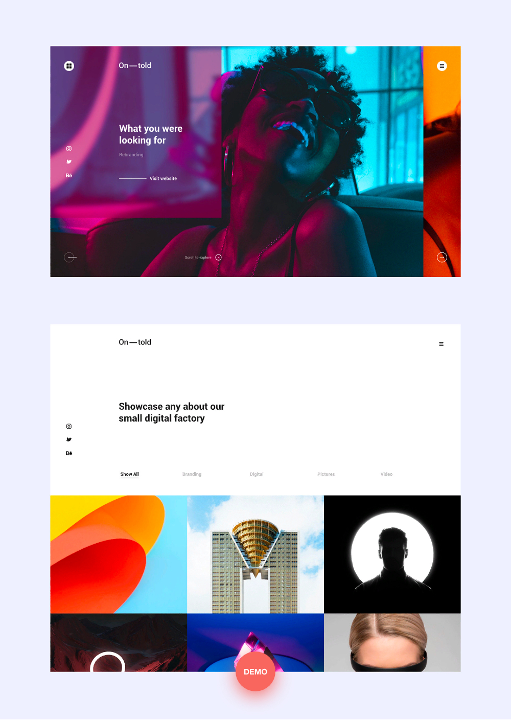 Ontold | Creative Agency Drupal Theme for the Digital Age - 2