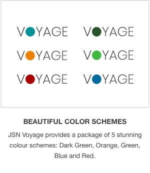 JSN Voyage - Responsive Tourism and Hotel Booking Joomla Template. - 5