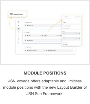 JSN Voyage - Responsive Tourism and Hotel Booking Joomla Template. - 3