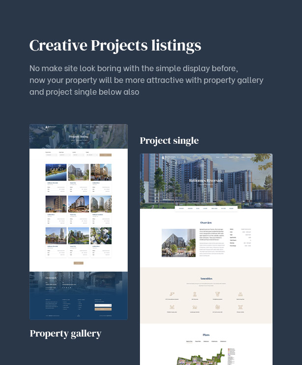 Rehomes - Real Estate Group WordPress Theme