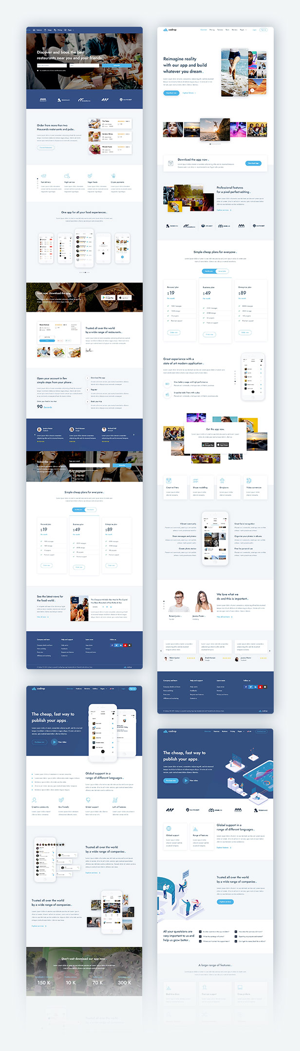 Codrop - App Landing Page And One Page Template - 1