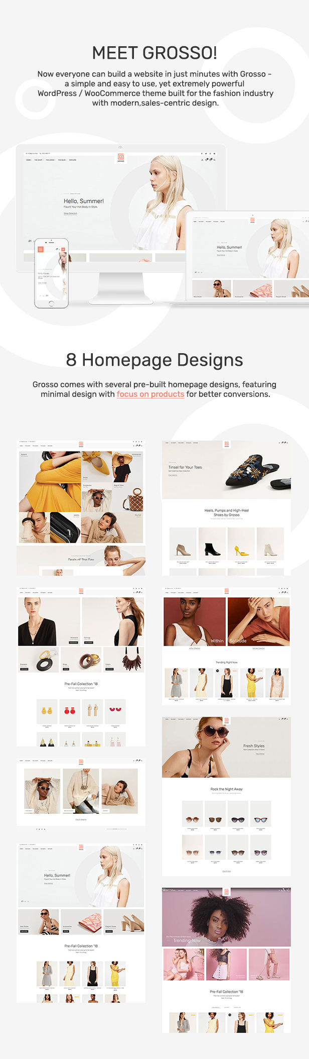 Grosso - Modern WooCommerce theme for the Fashion Industry - 3