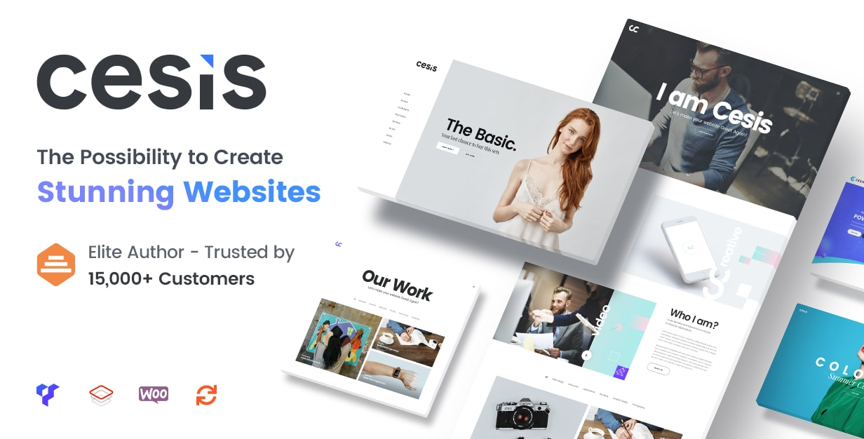 Cesis is the Best Multi-Purpose WordPress Theme on ThemeForest