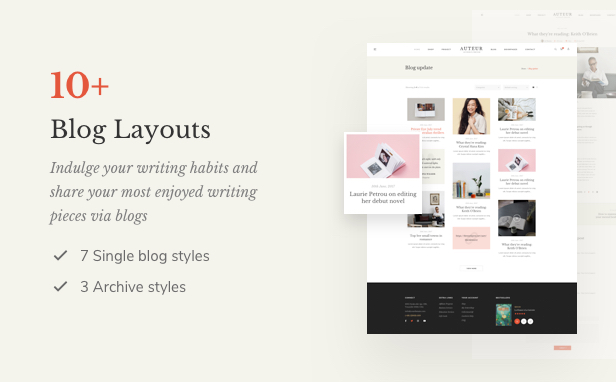Auteur – WordPress Theme for Authors and Publishers - 10