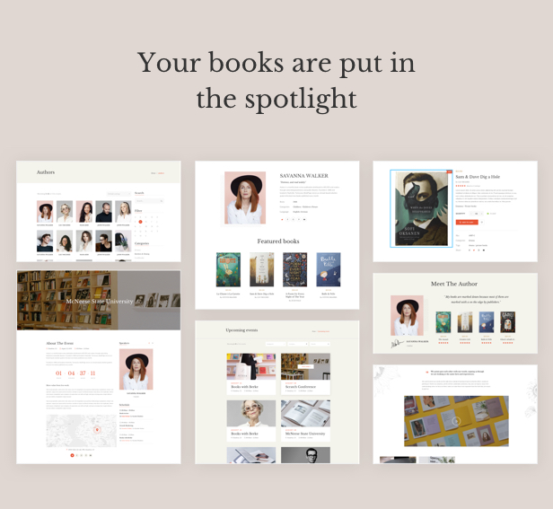 Auteur – WordPress Theme for Authors and Publishers - 12