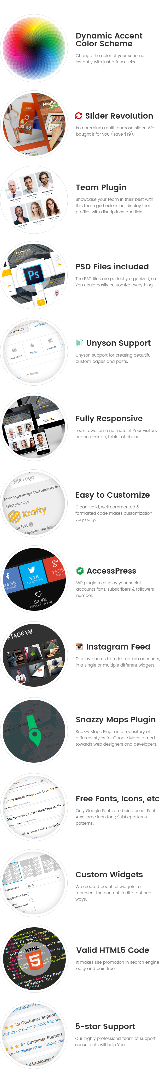 Krafty - Small Business WordPress Theme