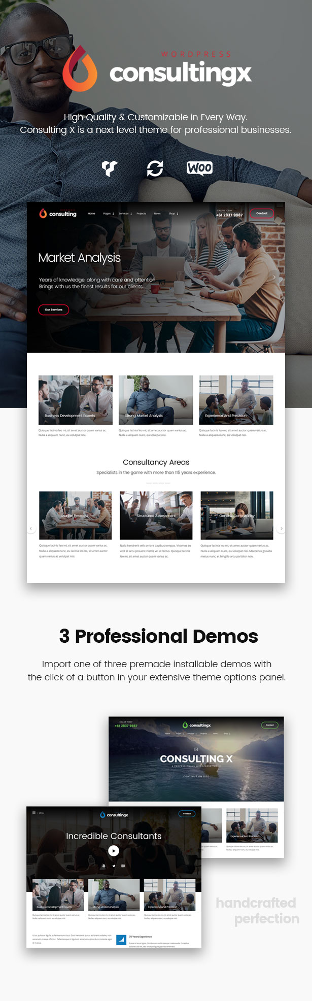 Consulting X – Finance & Business Consulting WordPress Theme - 1