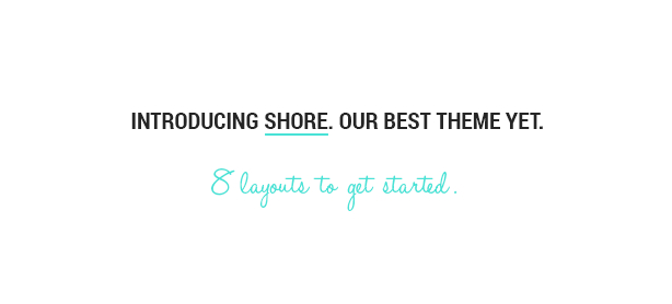 Shore - Creative MultiPurpose WordPress Theme - 4