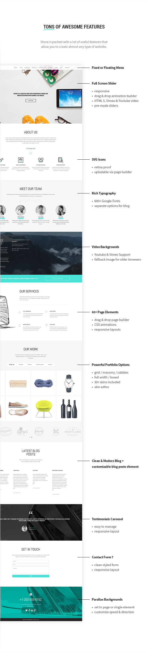 Shore - Creative MultiPurpose WordPress Theme - 18