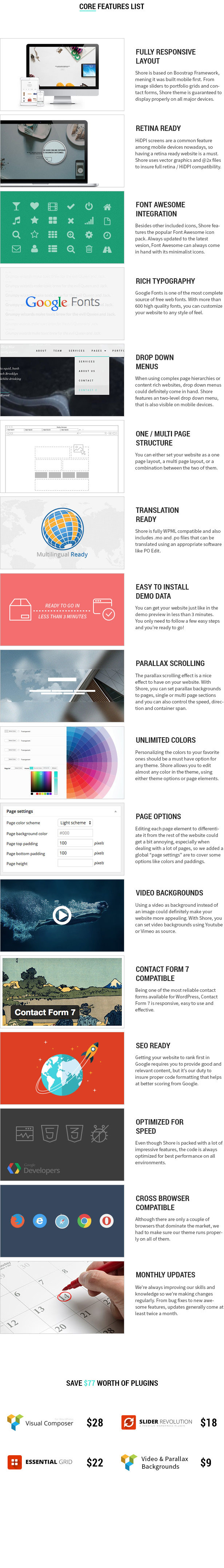 Shore - Creative MultiPurpose WordPress Theme - 20