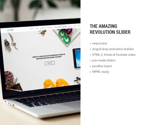 Shore - Creative MultiPurpose WordPress Theme - 14