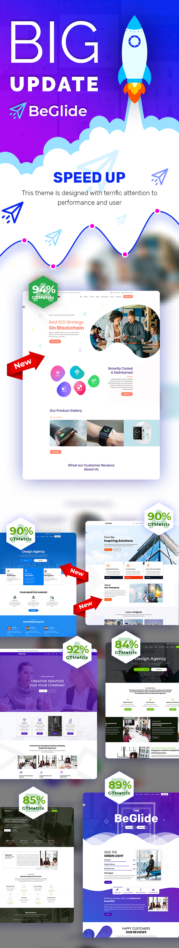 BeGlide: Corporate Business Consultant Agency WordPress Theme - 7
