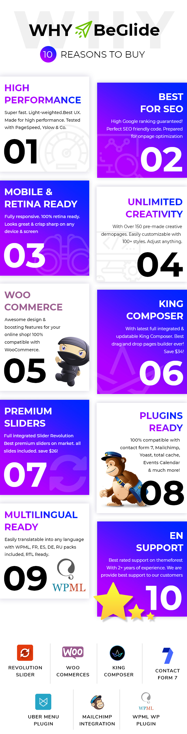 BeGlide: Corporate Business Consultant Agency WordPress Theme - 11