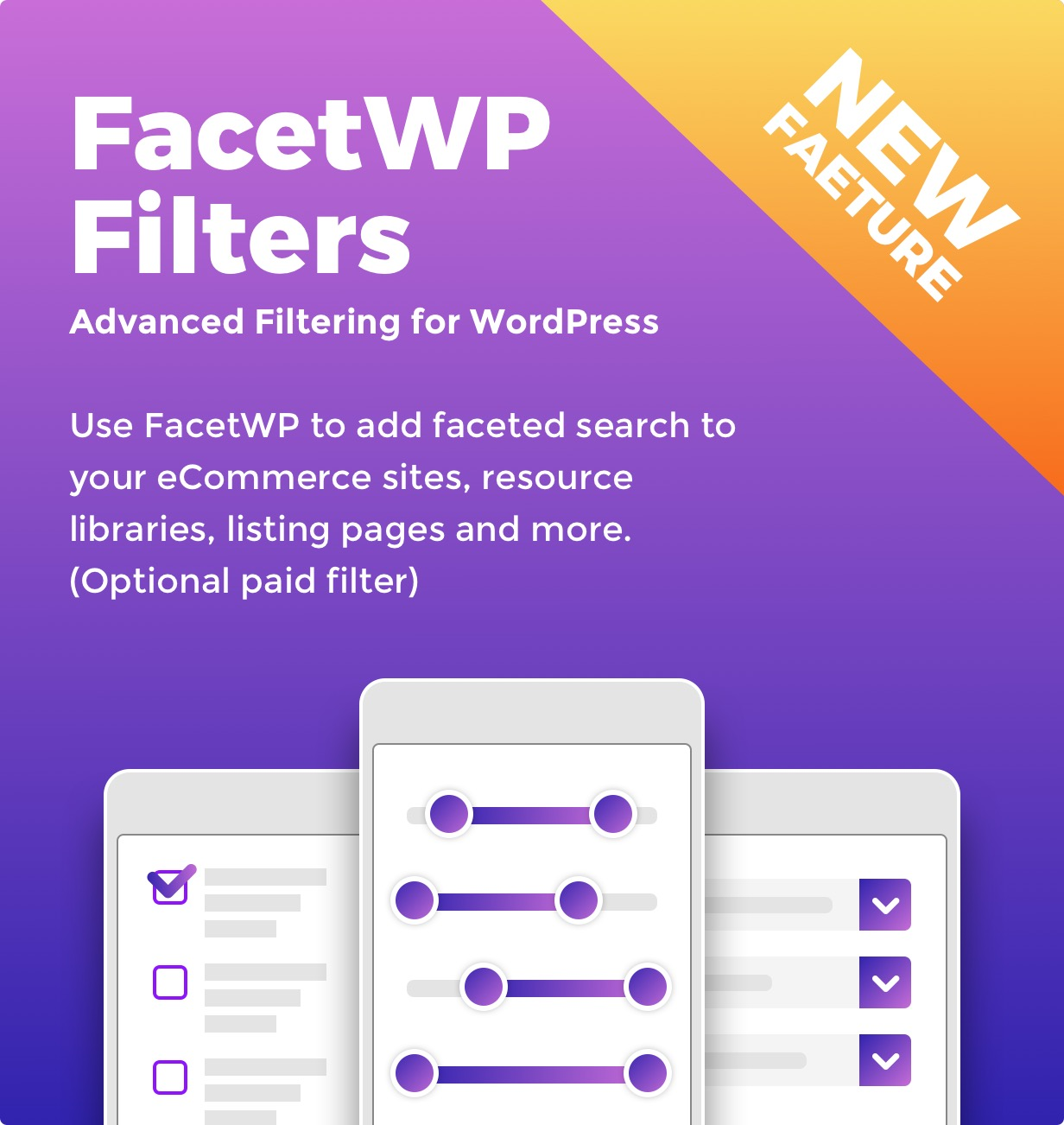 FacetWP Filters