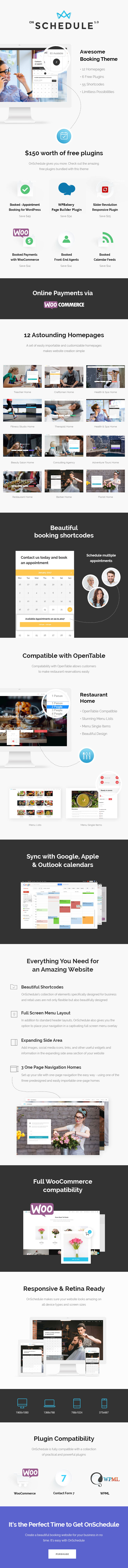 OnSchedule - Retail Booking Theme - 1