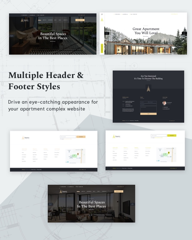 Hourty - Single Property WordPress Theme