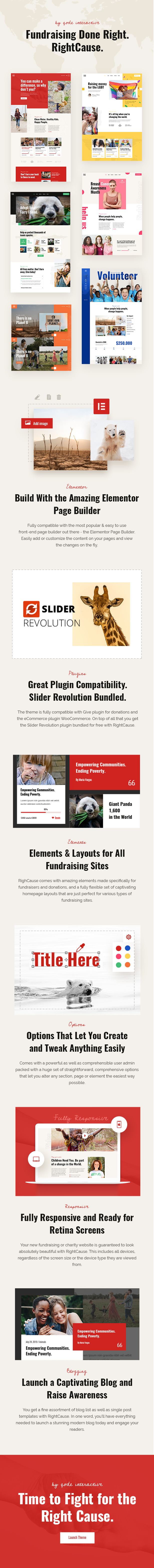 RightCause - Charity and Donation Theme - 2